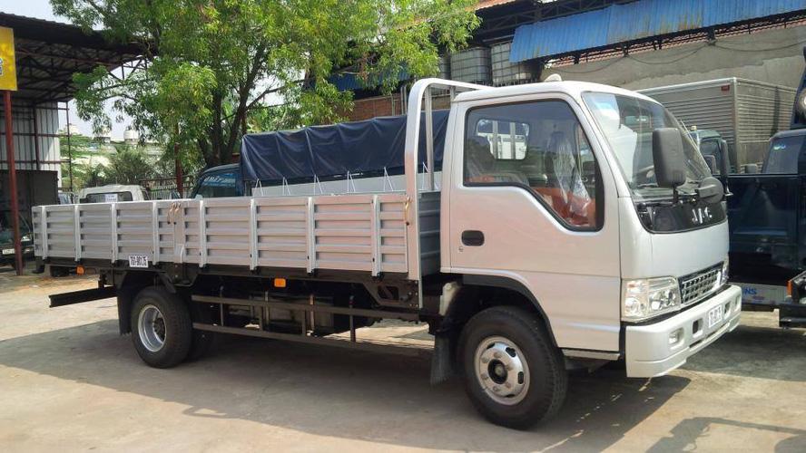 Xe tải jac 6.4 tấn thùng lửng