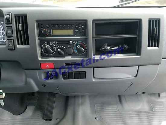 Hệ thống điều hòa xe tai jac 7t25