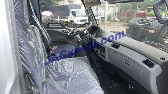Nội thất xe tải jac 4t95