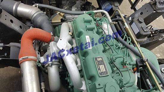 Động cơ FAW xe tai jac 6,4 tan