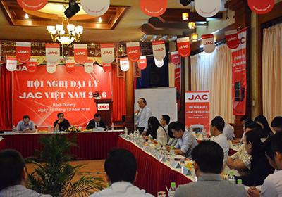 Hội nghị đại lý xe tải jac Việt Nam 2016