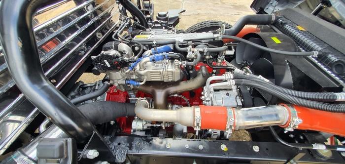 JAC n800 sử dụng động cơ cummin mỹ