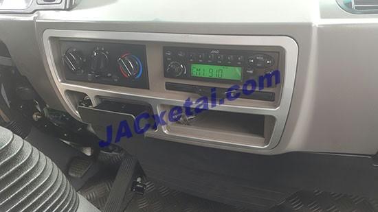 Máy lạnh, radio xe tai jac 9.1 tan